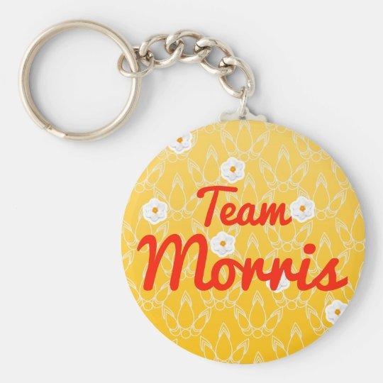Team Morris Basic Round Button Key Ring