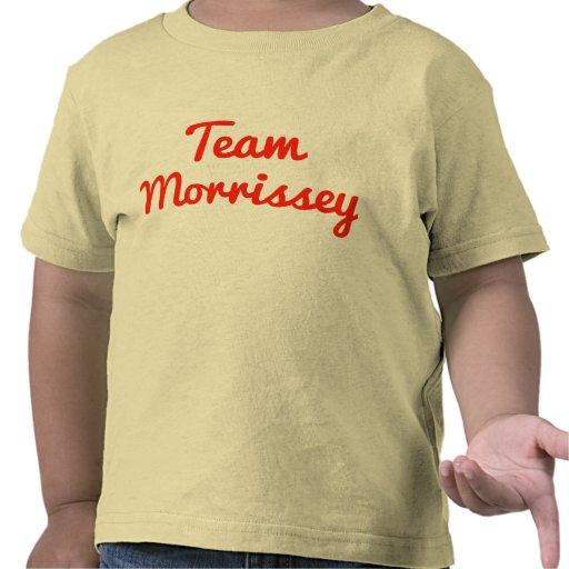 Team Morrissey T-shirts