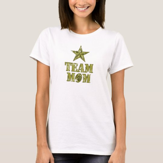 Team Mum Football General's Star T-Shirt