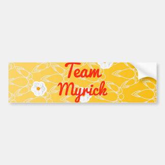 Team Myrick Bumper Sticker