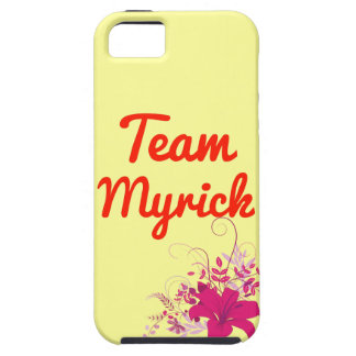 Team Myrick iPhone 5 Case