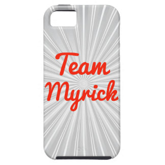 Team Myrick iPhone 5 Cases