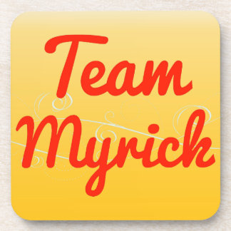 Team Myrick Drink Coaster