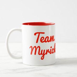 Team Myrick Two-Tone Mug