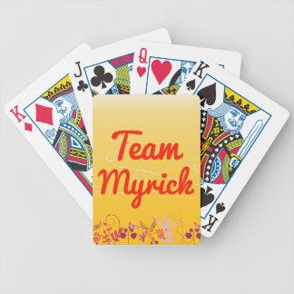 Team Myrick Poker Deck