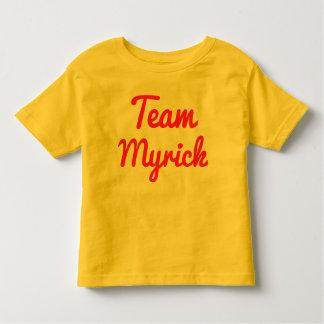 Team Myrick Shirts