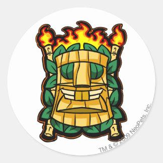 Team Mystery Island Logo Classic Round Sticker
