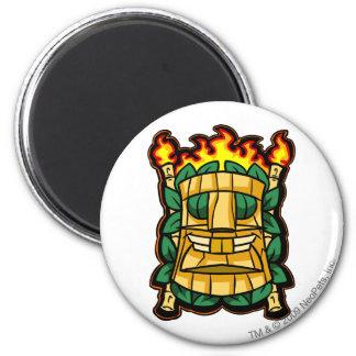 Team Mystery Island Logo 6 Cm Round Magnet