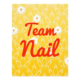 Team Nail 21.5 Cm X 28 Cm Flyer