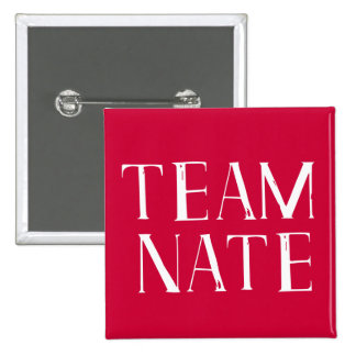 Team Nate Pinback Button