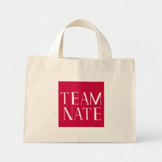 Team Nate tote Mini Tote Bag