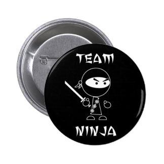 Team Ninja 6 Cm Round Badge