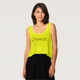 Team No Time To Lose Flowy T-Shirt (Yellow)