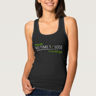 Team No Time To Lose Womens Slim Fit Tank