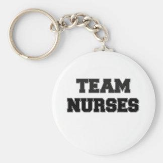 Team Nurses Key Chain