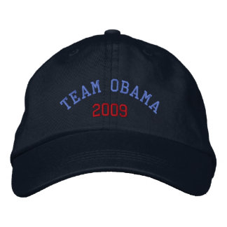 Team Obama 2009 Embroidered Hat
