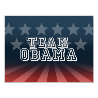 TEAM OBAMA POSTERS