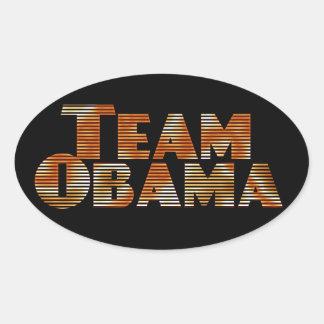 Team Obama Sticker