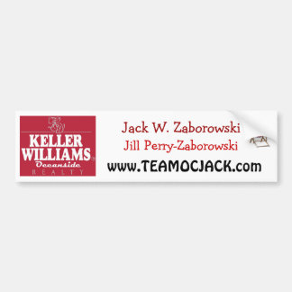 Team OC Jack Bumper Sticker
