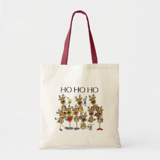 Team of Reindeer Tote Bag