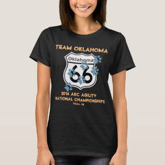 Team Oklahoma Agility Design for Supporters 2016 T-Shirt