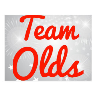 Team Olds Post Cards