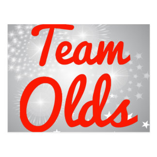 Team Olds Postcards