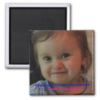 Team Olivia Kay Alexander Awareness Magnet