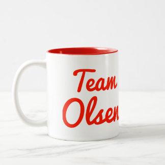 Team Olsen Two-Tone Mug