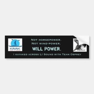 Team Osprey Willpower Bumper Sticker