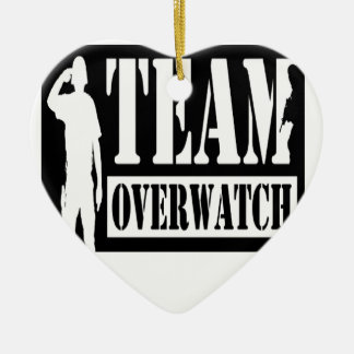 Team Overwatch Christmas Ornament