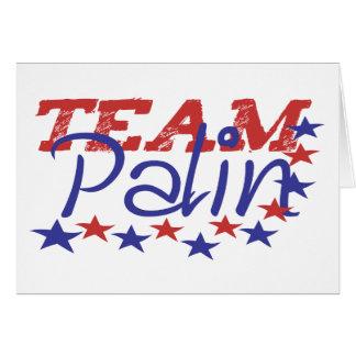 Team Palin Card