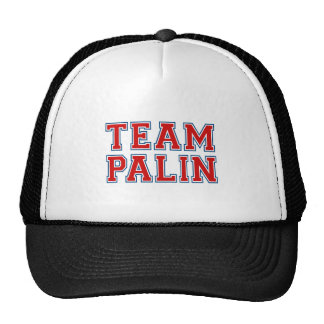 TEAM PALIN Collegiate (red white blue) Hats