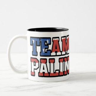 Team Palin Two-Tone Coffee Mug