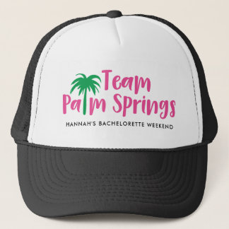 Team Palm Springs Trucker Hat