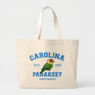 Team Parakeet Large Tote Bag