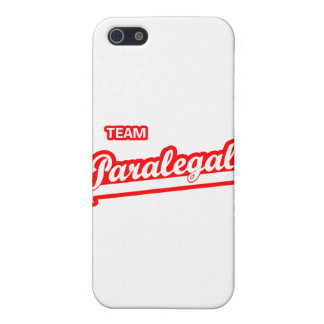Team Paralegal iPhone 5 Covers