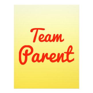 Team Parent Flyers