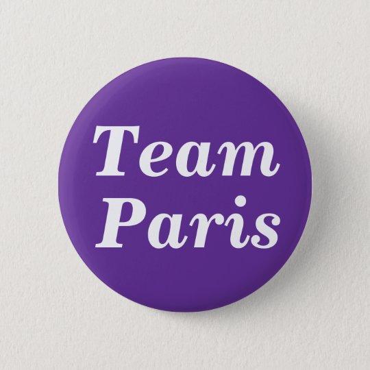 Team Paris Badge