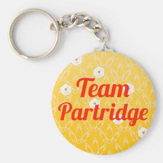 Team Partridge Key Ring