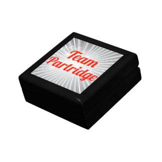 Team Partridge Small Square Gift Box