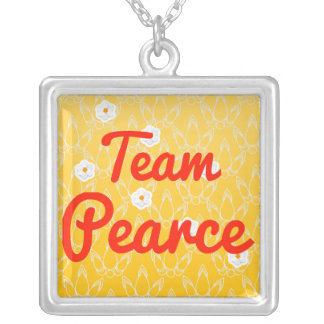 Team Pearce Personalized Necklace