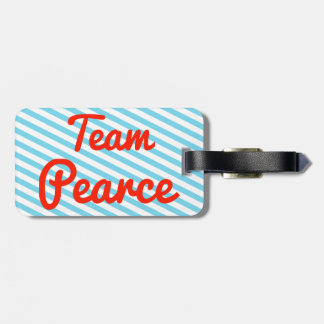 Team Pearce Tag For Luggage