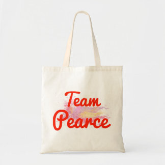 Team Pearce Tote Bag