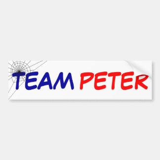 Team Peter Bumper Sticker