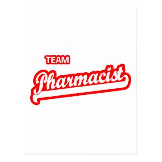 Team Pharmacist Postcard