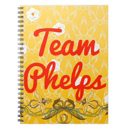 Team Phelps Notebooks