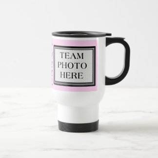 Team Photo Personalized Cheerleading Coach Gifts Stainless Steel Travel Mug