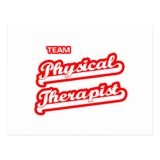 Team Physical Therapist Postcard