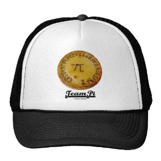Team Pi (Pi / Pie Mathematical Constant Atttude) Mesh Hats